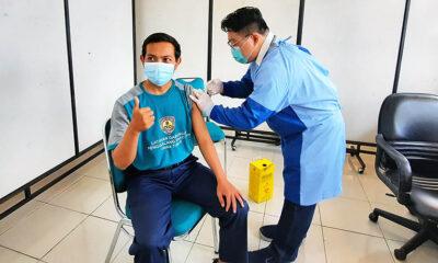 Vaksinasi Tahap 2, RSSA Suntik 1000 Guru Kota Malang