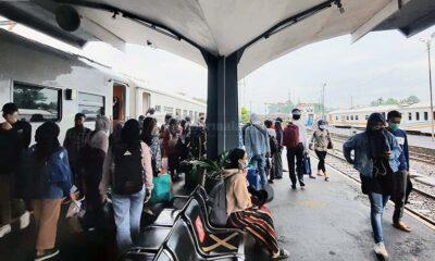 Libur Panjang Isra Miraj, KA Lokal Malang Kotabaru Laris Manis