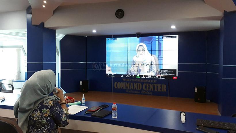 Diskominfo Kabupaten Malang menyelenggarakan pemilihan Duta Informasi 2021. Ada 100 orang peserta dalam seleksi tersebut.