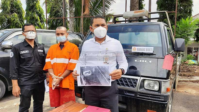 Adik Curi Mobil Kakak Kandung di Kota Malang Demi Beli Narkoba