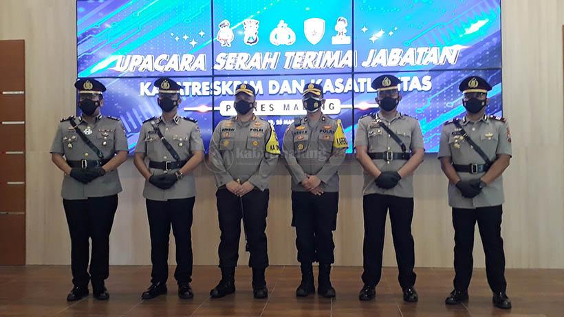 Jabatan Kasatlantas dan Kasatreskrim Polres Malang Berganti Sekaligus