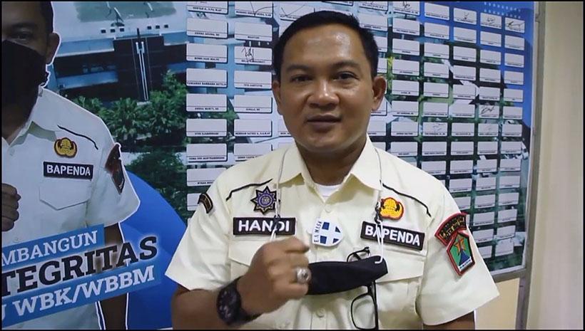 Handi Priyanto Masuk 3 Besar Calon Sekda Kota Malang