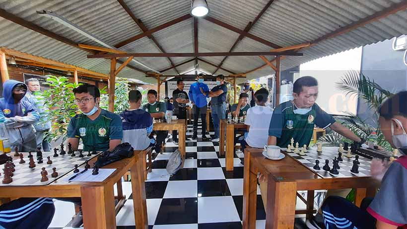 Tim Catur Jatim Uji Coba Lawan Kota Malang Demi PON 2021