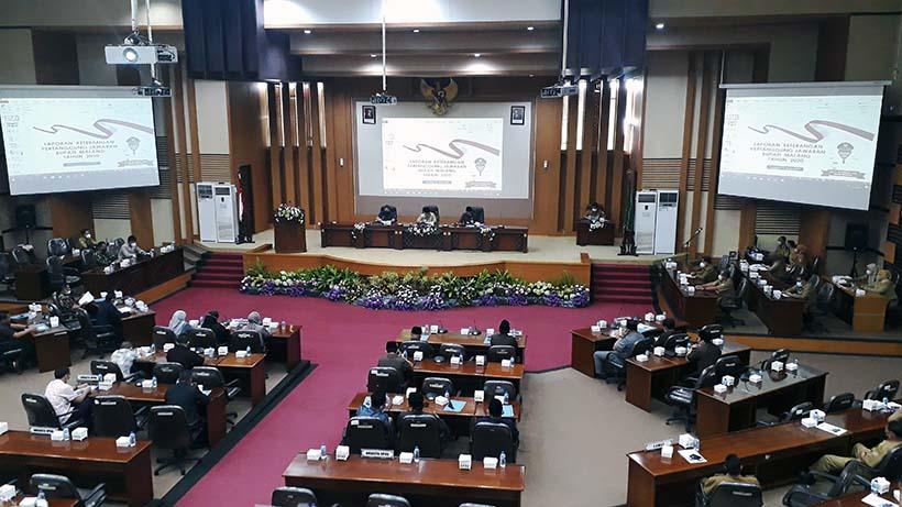 Akibat Covid-19 PAD Kabupaten Malang 2020 Mengalami Penurunan