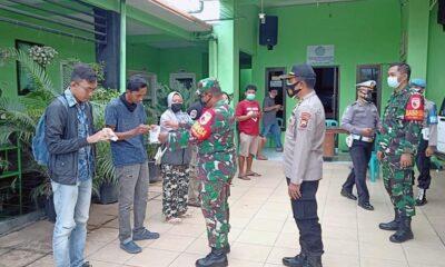 Penegakan Prokes Serentak Di Kota Malang, Sasar Warga Tak Bermasker