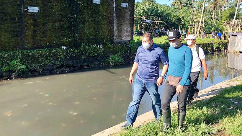 Gerebek Sumber Air Wendit, Wabup Dan Dirut Tugu Tirta Bersih Sungai