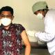 Ratusan Wartawan Ikuti Suntik Vaksin Tahap 2 Kota Malang