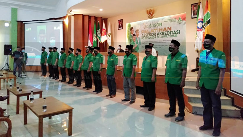 PW Ansor Jatim Gagas Pelatihan Assesor Akreditasi Pengurus Cabang