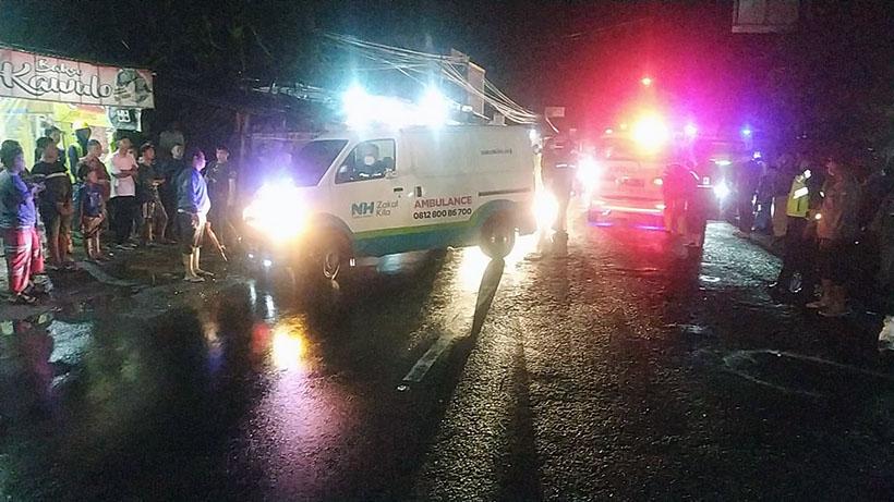 Hujan Akibatkan Pemotor Meninggal Tersenggol Truk Di Pakis Malang