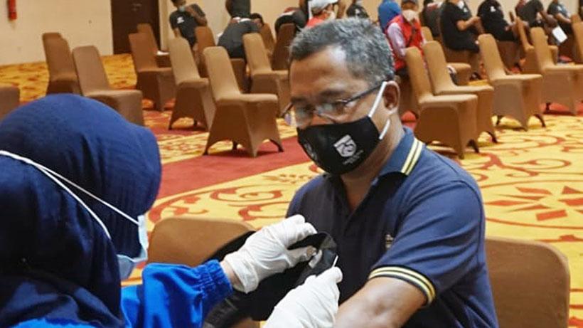 Panitia Pelaksana Grup B Piala Menpora Di Malang Dapat Jatah Vaksinasi