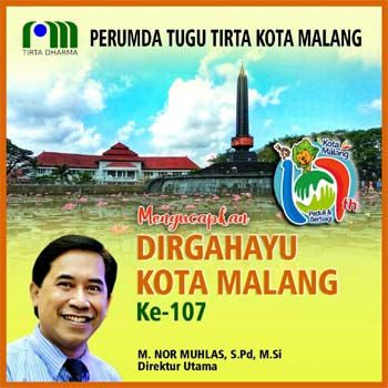 Iklan Ucapan HUT Kota Malang Ke 107