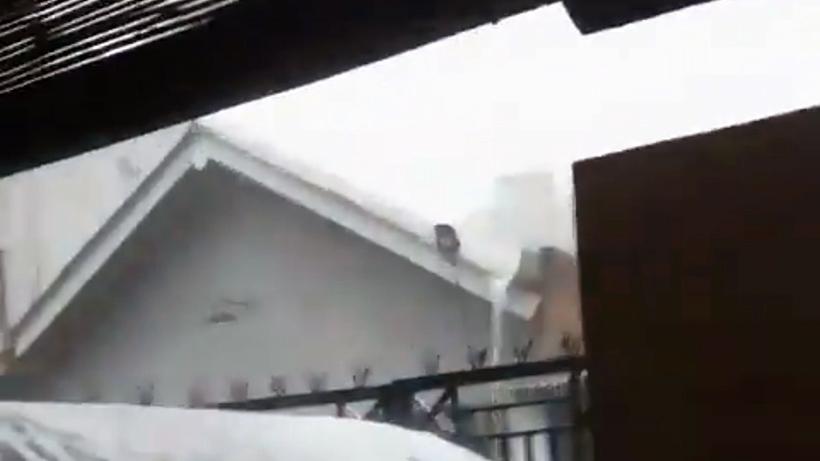Kabar Cuaca Kabupaten Malang, Hujan Es Menyerbu Bululawang