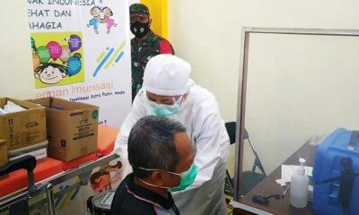 Vaksinasi Lansia Sudah Mulai, 62 Orang Suntik Di Sukun Kota Malang