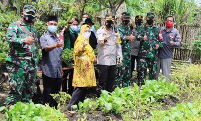 Kapolresta Dandim Resmikan Kampung Tangguh Semeru Tasikmadu