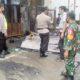 Gerobak Tambal Ban Terbakar Habis di Madyopuro Kota Malang