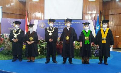 UB Kukuhkan Tiga Profesor Baru Bidang Peternakan Dan Pertanian