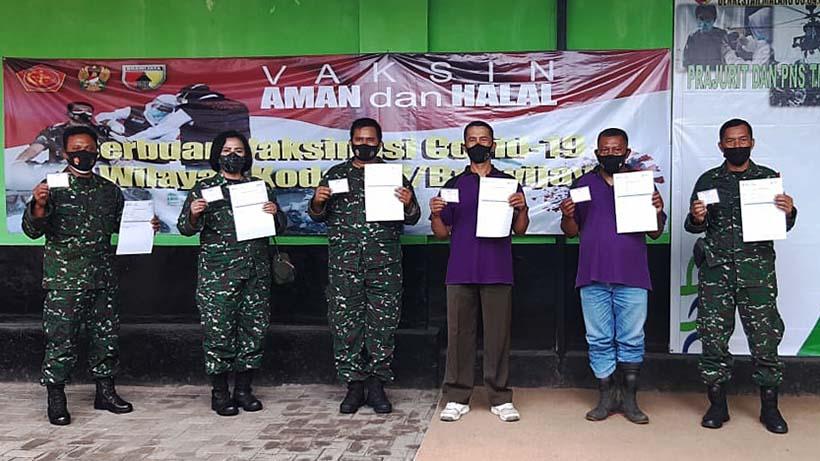 Vaksinasi Untuk Kodim 0833 Kota Malang Masih Berlanjut