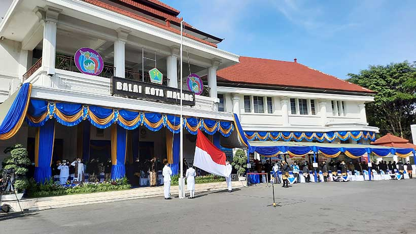 HUT 107 Kota Malang di Masa Pandemi, Momen Kuatkan Solidaritas