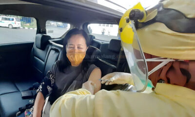 Vaksinasi Drive Thru Lansia Terlaksana Di Mini Block Office Kota Malang