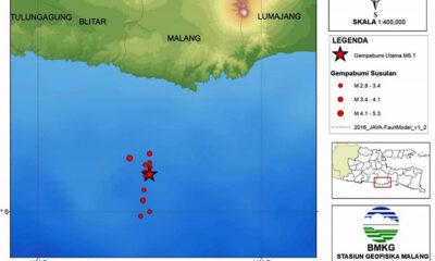 BMKG Catat Gempa Susulan Di Malang Terjadi Sebanyak 11 Kali
