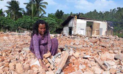 Inilah Kisah Korban Gempa Malang, Rumah Rata Dengan Tanah