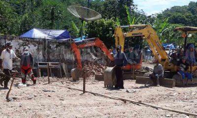 Pembangunan Rumah Warga Terdampak Gempa Bumi Malang Dimulai