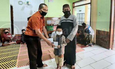 Komunitas Aksara Tumapel Malang Salurkan Santunan Di Panti Asuhan
