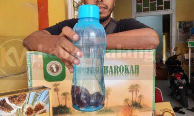 Infused Water Buah Kurma, Ini Resep Dan Khasiatnya Bagi Tubuh