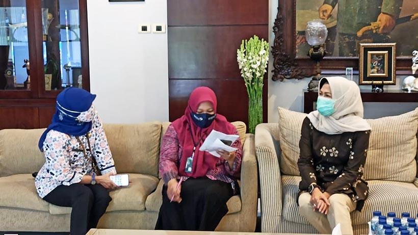 Wali Kota dan Ketua DPRD Ikuti Program Pendataan Keluarga 2021