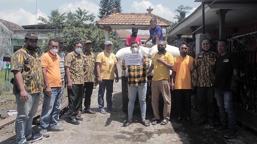 Golkar Kabupaten Malang Siapkan 50 Ton Beras Untuk Korban Gempa