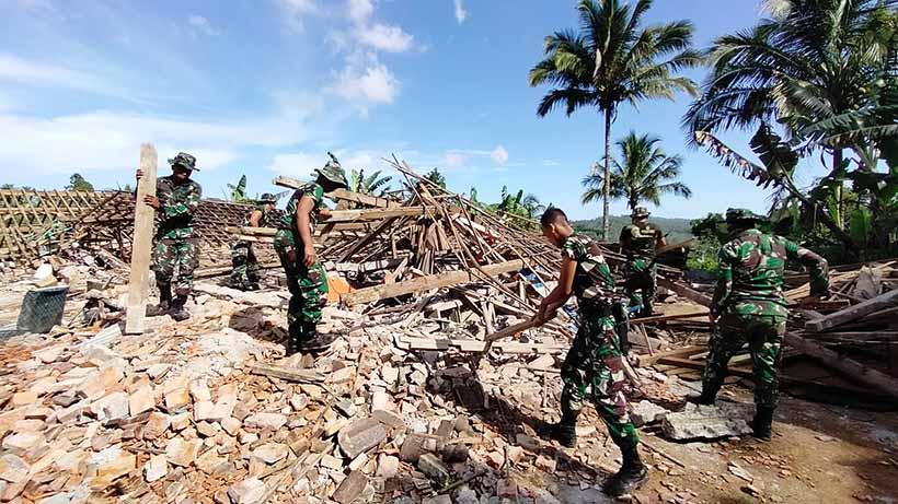 Kabar Gempa Hari Ini, 2310 Bangunan Rusak di Malang, 13 Orang Luka