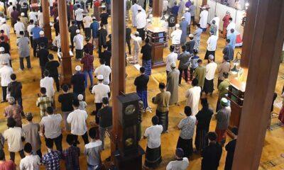 Kemenag Umumkan Sidang Isbat, Umat Di Kota Malang Tarawih Perdana