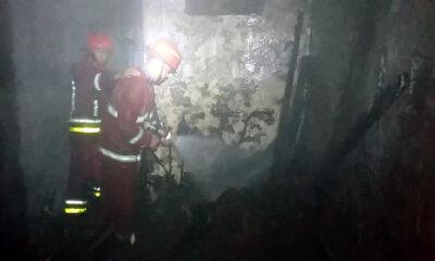 Gegara Puntung Rokok, Rumah di Klojen Kota Malang Terbakar