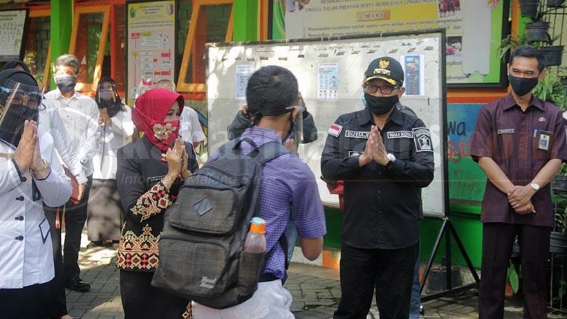 Pembelajaran Tatap Muka Kota Malang 19 April 2021, Begini Prokesnya