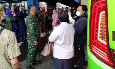 Santriwati Gontor Pulang Ke Malang, Dapat Kawalan Satgas Covid-19