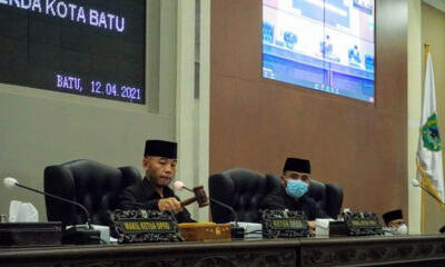 DPRD Beri Rekomendasi Terhadap LKPJ Walikota Batu Tahun 2020