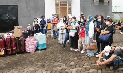 Pekerja Migran Pulkam Jadi 118 Orang, Semua Negatif Covid-19