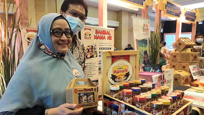 Awalnya Hobi Makan Pedas, Sambal Mama Ni dari Malang Mendunia
