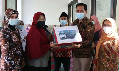 Tugu Tirta Kota Malang Lanjutkan Rangkaian Silaturahmi Dan Berbagi
