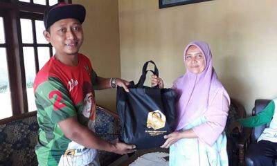 Anggota DPR RI Cak Udin Salurkan Ribuan Paket Sembako Di Malang