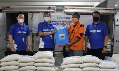 Bakti BCA Salurkan 2,75 Ton Beras Dan 150 Terpal Untuk Gempa Malang