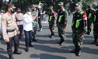 Forpimda Kota Malang Kerahkan Ratusan Personel Penyekatan Mudik