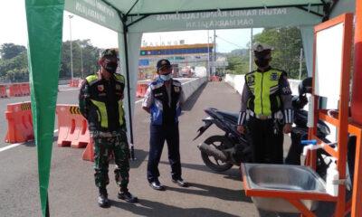 Penyekatan Mudik Kota Malang, Petugas Ketatkan Tol Madyopuro