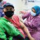 Ojol Kota Malang Vaksinasi Covid-19, Ratusan Driver Disuntik