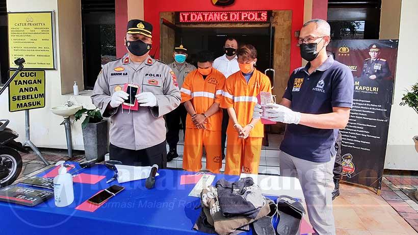 Maling Motor Di Malang Town Square, Tipu Tukang Kunci Untuk Mencuri