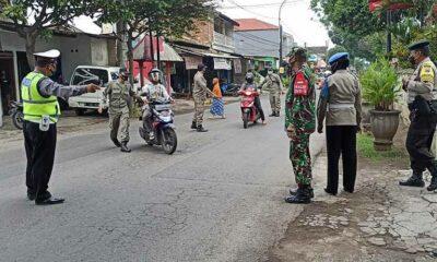 Operasi Yustisi Target Pelanggar Masker Di Lesanpuro Dan Pisangcandi
