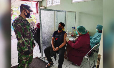 Puskesmas Pandanwangi Gelar Vaksinasi Untuk 150 Warga
