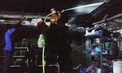Kebakaran Di Turen Malang, Satu Rumah Hangus, Kerugian Rp 100 Juta