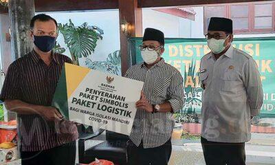 ASN Kota Malang Urunan Bantu Warga Isolasi Mandiri Covid-19