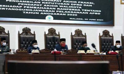 Terima Laporan Sutiaji Soal APBD 2020, Ini Pesan DPRD Kota Malang